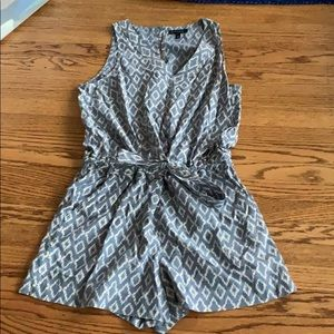 Banana Republic Pattern Romper